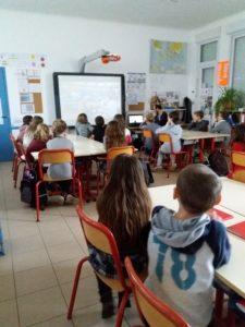 Sensibilisation en milieu scolaire