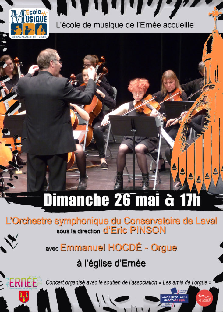 affiche orgue & symphonique