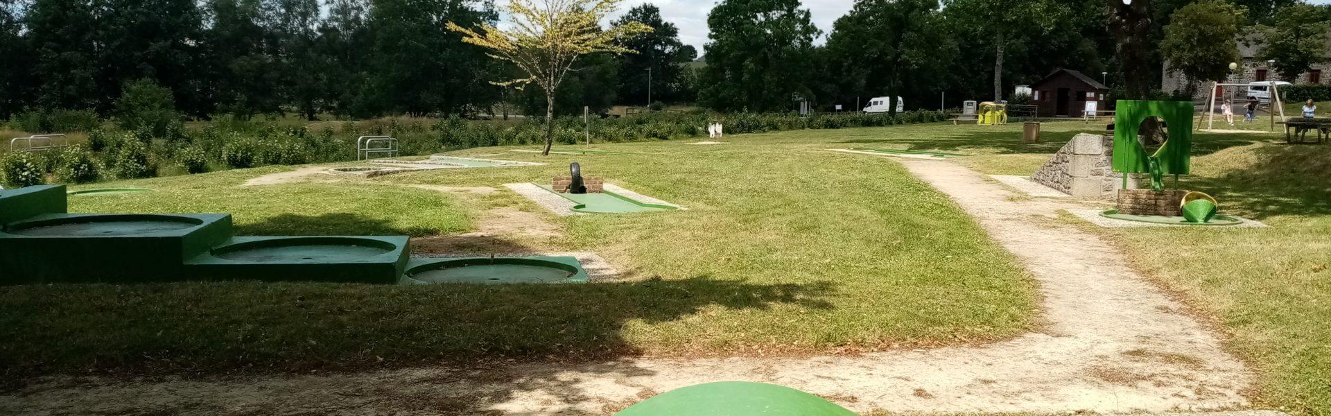 Mini golf bizeuls Ernée
